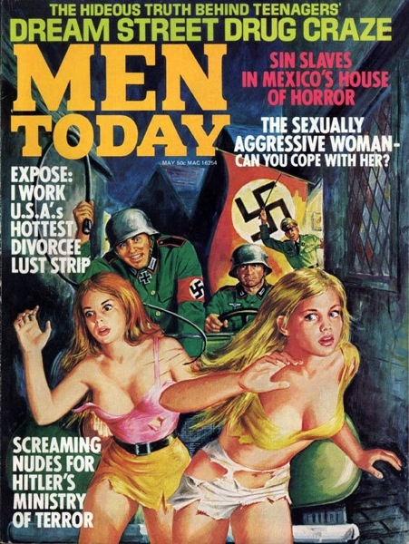 MEN TODAY Aug 1972 (cover by Walter Popp)