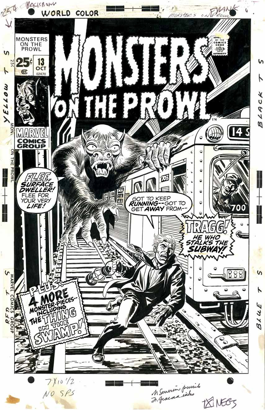 Marie Severin - Monsters on the Prowl 13, October 1971