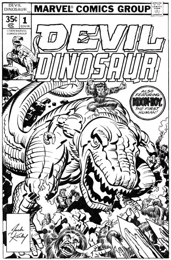 Devil Dinosaur 1 cover