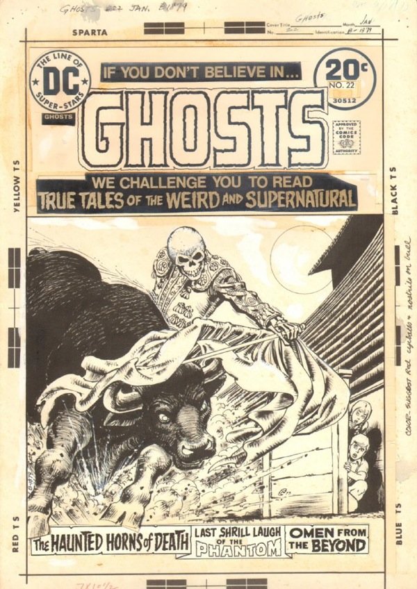 Ghosts 22 cover by Nick Cardy