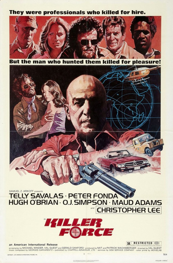 Killer Force starring Telly Savalas