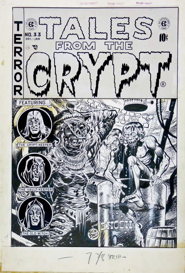 Jack Davis - Tales from the Crypt 33, 1953