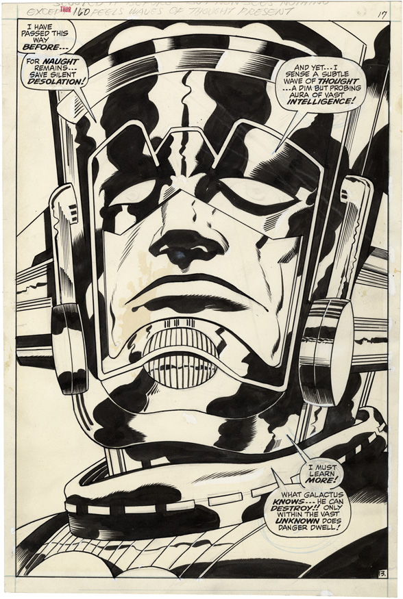 Galactus splash from Thor160 page 17
