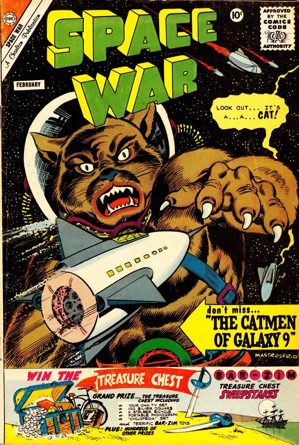 Space War #9, Feb 1961