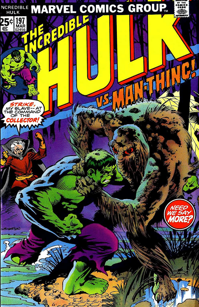 Berni Wrightson - cover for Incredible Hulk 197