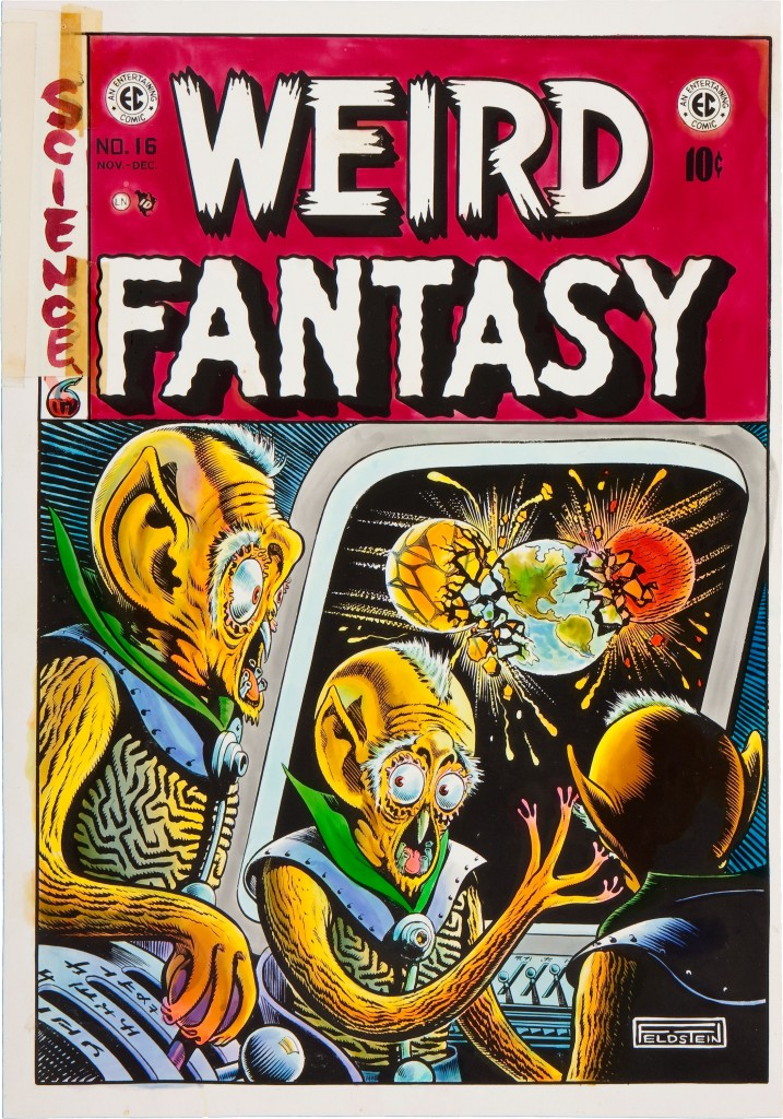 Weird Fantasy 16 color guide by Marie Severin